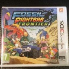 Videojuegos y Consolas: FOSIL FIGHTERS FRONTIER NINTENDO 3DS PAL ESPAÑA NUEVO PRECINTADO. Lote 158821890
