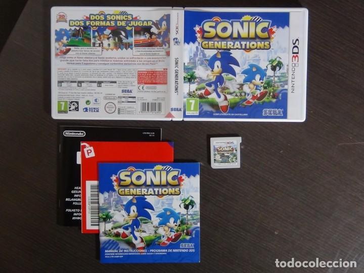 JUEGO SONIC GENERATION NINTENDO 3DS (Juguetes - Videojuegos y Consolas - Nintendo - 3DS)