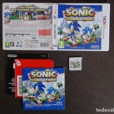 Videojuegos y Consolas: JUEGO SONIC GENERATION NINTENDO 3DS . Lote 161887262
