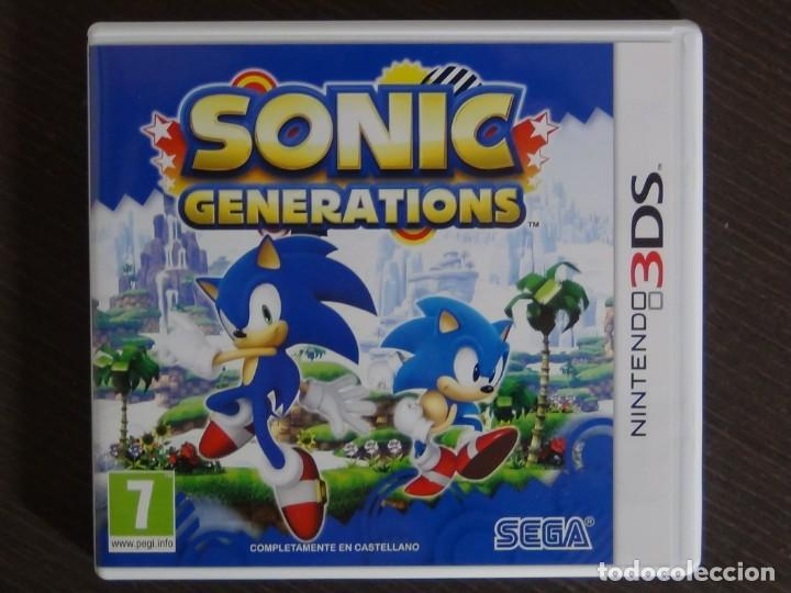 Videojuegos y Consolas: Juego Sonic Generation Nintendo 3ds - Foto 2 - 161887262