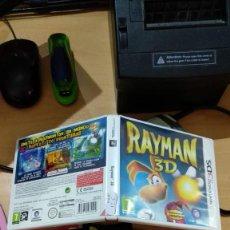 Videojuegos y Consolas: RAYMAN 3D, NINTENDO 3DS. Lote 165103350
