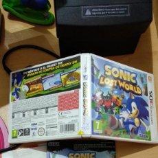 Videojuegos y Consolas: SONIC LOST WORLD, NINTENDO 3DS. Lote 165104602
