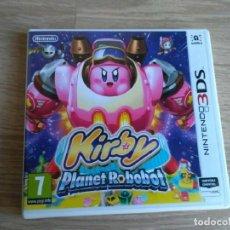 Videojuegos y Consolas: NINTENDO 3DS JUEGO KIRBY PLANET ROBOBOT NUEVO. Lote 167854180