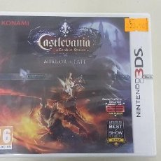 Videojuegos y Consolas: J6- CASTLEVANIA LORDS OF SHADOW MIRROR OF FATE NINTENDO 3DS VERSION ESPAÑOLA PRECINTADO. Lote 168061264