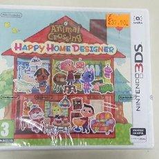 Videojuegos y Consolas: J6- ANIMAL CROSSING HAPPY HOME DESIGNER NINTENDO 3 DS VERSION ESPAÑOLA PRECINTADO. Lote 168061420