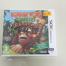 Videojuegos y Consolas: J6- DONKEY KONG COUNTRY RETURNS 3D NINTENDO 3 DS VERSION ESPAÑOLA PRECINTADO 2. Lote 168075068