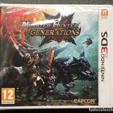 Videojuegos y Consolas: MONSTER HUNTER GENERATIONS 3DS PRECINTADO!!!. Lote 170402776