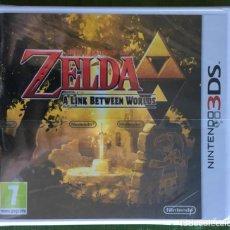 Videojuegos y Consolas: THE LEGEND OF ZELDA: A LINK BETWEEN WORLDS 3DS PRECINTADO!!!. Lote 170404172