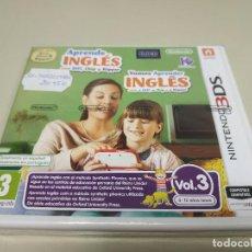 Videojuegos y Consolas: JJ-APRENDE INGLES 3DS EN BLISTER VERSION ESPAÑA PROCEDE STOCK Nº2. Lote 171113012