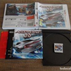 Videojuegos y Consolas: NINTENDO 3DS ASPHALT 3D PAL ESP COMPLETO. Lote 172745297