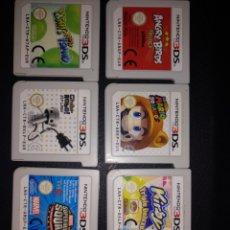 Videojuegos y Consolas: NINTENDO 3DS LOTE DE 7 JUEGOS. Lote 173445404