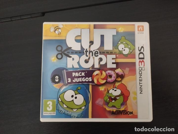NINTENDO 3DS,CUT THE ROPE, PACK 3 JUEGOS (Juguetes - Videojuegos y Consolas - Nintendo - 3DS)