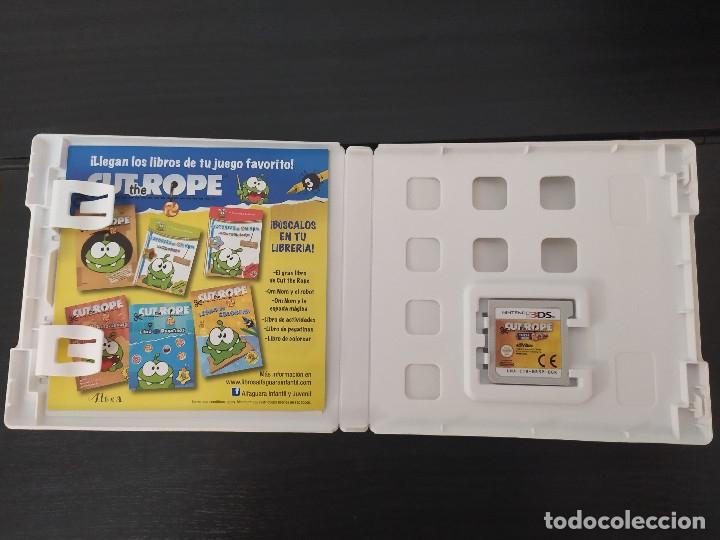 Videojuegos y Consolas: nintendo 3ds,cut the rope, pack 3 juegos - Foto 3 - 174160224