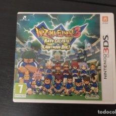 Videojuegos y Consolas: NINTENDO 3DS,INAZUMA ELEVEN 3, RAYO CELESTE. Lote 174160433