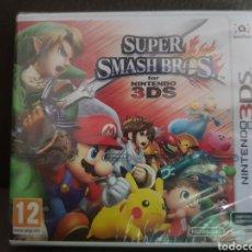 Videojuegos y Consolas: SUPER SMASH BROS PARA NINTENDO 3 DS NUEVO CON EL ENVOLTORIO DE PLASTICO. Lote 174464155