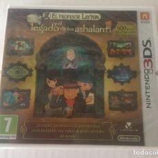 Videojuegos y Consolas: EL PROFESOR LAYTON Y EL LEGADO DE LOS ASHALANTI NINTENDO 3DS N3DS NUEVO SELLADO KREATEN. Lote 269577128