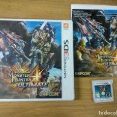 Videojuegos y Consolas: MONSTER HUNTER 4 ULTIMATE 3DS NINTENDO . Lote 176257754