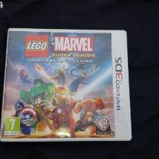 Videojuegos y Consolas: CAJA (SIN JUEGO) NINTENDO 3DS LEGO MARVEL CON INSTRUCCIONES. Lote 176735274