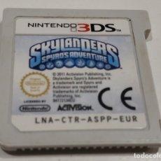 Videojuegos y Consolas: JUEGO NINTENDO 3DS SKYLANDERS SPYROS ADVENTURE. Lote 177432658