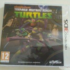 Videojuegos y Consolas: NINTENDO 3DS JUEGO TEENAGE MUTANT NINJA TURTLES NUEVO. Lote 178687330