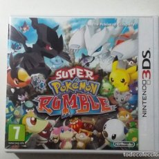 Videojuegos y Consolas: SUPER POKEMON RUMBLE NINTENDO 3DS. Lote 180257410