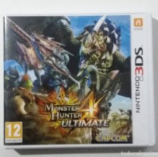 Videojuegos y Consolas: MONSTER HUNTER ULTIMATE 4, 3DS COMPLETO IMPECABLE. Lote 180482478