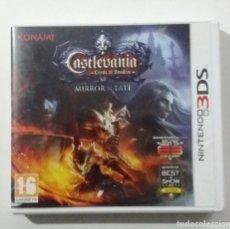 Videojuegos y Consolas: CASTLEVANIA MIRROR OF FATE 3DS. Lote 180482825