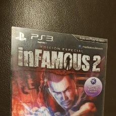 Videojuegos y Consolas: PS3 INFAMOUS 2 JUEGO PLAYSTATION 3 EDICION ESPECIAL LIMITADA!. Lote 181430800