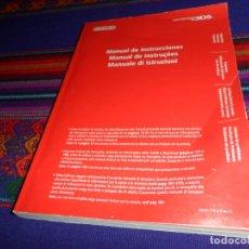 Videojuegos y Consolas: MANUAL DE INSTRUCCIONES NINTENDO 3DS. AÑO 2011. 380 PÁGINAS. CASTELLANO, PORTUGUÉS E ITALIANO.. Lote 182838743