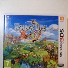 Videojuegos y Consolas: FANTASY LIFE 3DS. Lote 183031425