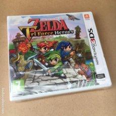 Videojuegos y Consolas: JUEGO PRECINTADO 3DS - ZELDA (TRI FORCE HEROES) PAL ESPAÑA - NUEVO. Lote 183523712