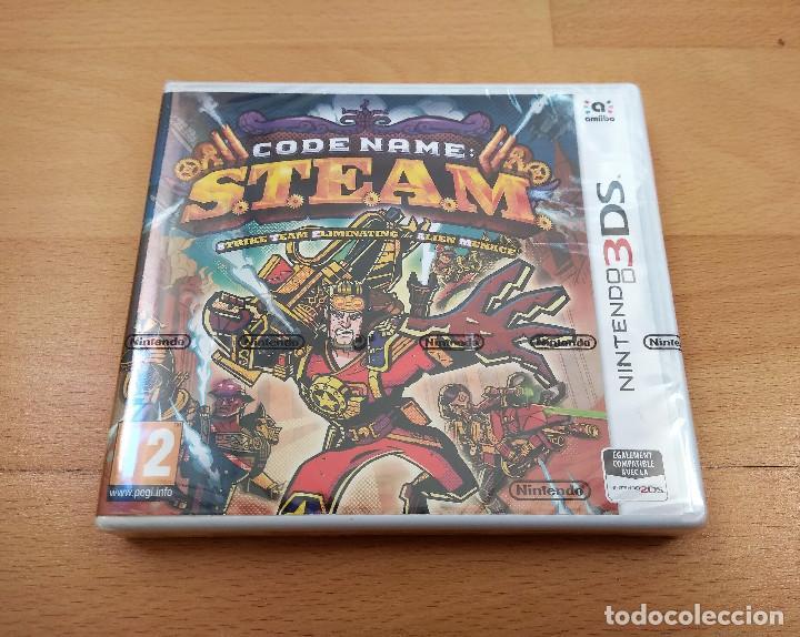 JUEGO NINTENDO 3DS CODE NAME S.T.E.A.M VERSIÓN FRANCESA PRECINTADO (Juguetes - Videojuegos y Consolas - Nintendo - 3DS)