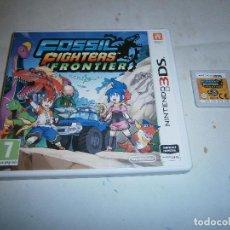 Videojuegos y Consolas: FOSSIL FIGHTERS FRONTIER NINTENDO 3DS. Lote 185937800
