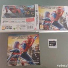 Videojuegos y Consolas: AMAZING SPIDER-MAN NINTENDO 3DS N3DS COMPLETO PAL-ESPAÑA. Lote 186219950