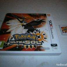 Videojuegos y Consolas: POKEMON ULTRASOL NINTENDO 3DS PAL ESPAÑA . Lote 186260513