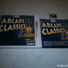 Videojuegos y Consolas: ARCADE CLASSICS NINTENDO 3DS PAL ESPAÑA COMPLETO. Lote 186260721