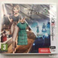 Videojuegos y Consolas: NEW STYLE BOUTIQUE 3 NINTENDO 3DS N3DDS ESTILISMO PARA CELEBRITIES KREATEN NUEVO SELLADO. Lote 186289897