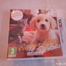 Videojuegos y Consolas: 11-JUEGO NINTENDOGS + CATS, NINTENDO 3DS. Lote 187394287