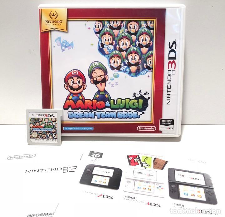 Mario Luigi Dream Team Bros Nintendo 3ds Buy Video Games And