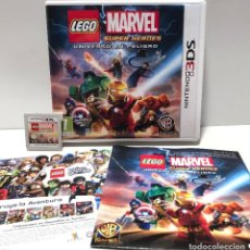 Videojuegos y Consolas: LEGO MARVEL SUPER HEROES UNIVERSO EN PELIGRO NINTENDO 3DS. Lote 190328286