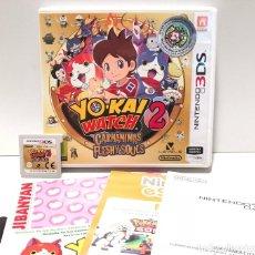 Videojuegos y Consolas: YO-KAI WATCH 2 CARNÁNIMAS NINTENDO 3DS. Lote 190328683