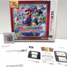 Videojuegos y Consolas: MARIO PARTY ISLAND TOUR NINTENDO 3DS. Lote 190329076