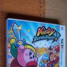 Videojuegos y Consolas: JUEGO KIRBY BATTLE ROYALE PARA NINTENDO 3DS.. Lote 191210000
