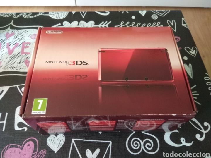 CAJA VACIA NINTENDO 3DS METALLIC RED. ROJO METALICO (Juguetes - Videojuegos y Consolas - Nintendo - 3DS)