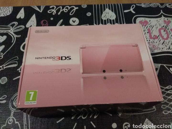 CAJA VACIA E INTERIOR NINTENDO 3DS CORAL PINK. ROSA CORAL (Juguetes - Videojuegos y Consolas - Nintendo - 3DS)
