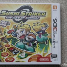 Videojuegos y Consolas: SUSHI STRIKER THE WAY OF SUSHIDO NINTENDO 3DS NUEVO PRECINTADO. Lote 195610981