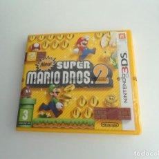 Videojuegos y Consolas: NEW SUPER MARIO BROS 2 - NINTENDO 3DS - JUEGO COMPLETO EN PERFECTO ESTADO - PRECINTADO. Lote 199420962