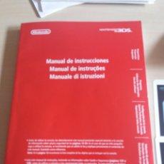 Videojuegos y Consolas: MÁNUAL DE INSTRUCCIONES NINTENDO 3DS. Lote 203438906