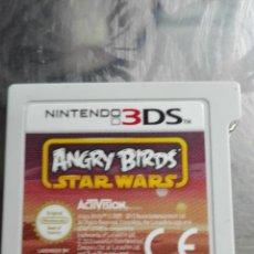 Videojuegos y Consolas: ANGRY BIRDS STAR WARS - NINTENDO 3DS - SOLO EL CARTUCHO JUEGO - VER FOTO.. Lote 204000026