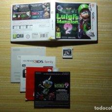 Videojuegos y Consolas: MANSIÓN DE LUIGI 2 JUEGO PARA NINTENDO 3DS. Lote 205726356
